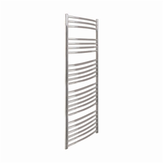Vogue Kerve Radiator 500mm x 1600mm Heating Only Polished Stainless Steel