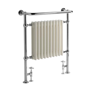 Vogue Regency Radiator 673mm x 965mm x 230mm Heating Only Chrome