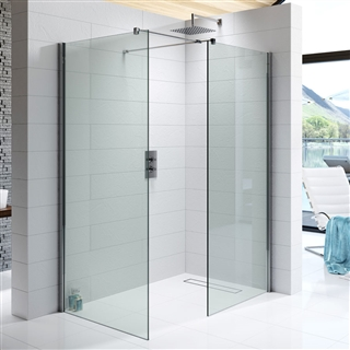 10mm Wetroom Glass Panel 700mm