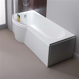 Pura Arco 1700mm Left Hand Front Shower Bath Panel