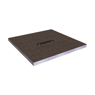 Abacus Elements Linear Shower Tray with Centre Drain 900mm x 900mm