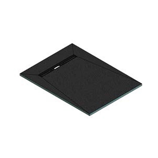 Abacus Elements Linear Level Access Shower Tray with End Drain 1200mm x 900mm