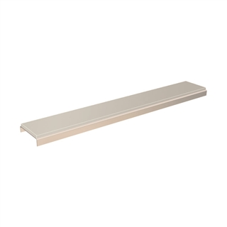 Abacus Elements Linear Drain Gloss Cover Plate Frost