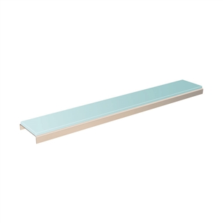 Abacus Elements Linear Drain Gloss Cover Plate Cloud
