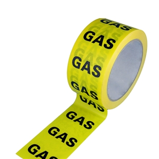 Gas Identification Tape 50mm x 33m