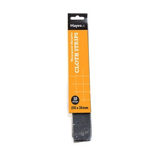 Mini Abrasive Strips Medium 180 Grit (Pack of 10)