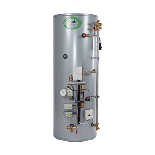 Joule Cyclone Smart Plumb Pre-Plumbed Indirect Unvented Cylinder 250 Litre (2Z) Heat Only