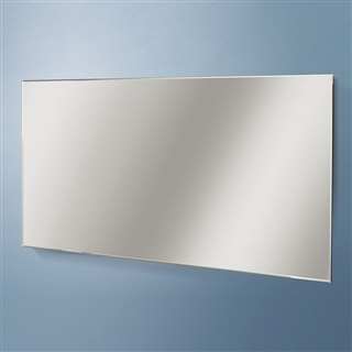 HiB Willow Plain Mirror 1200mm x  600mm