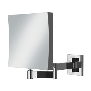 HiB Helix Square Magnifying Mirror 170mm x 170mm