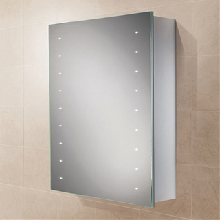 HiB Nimbus 50 Single Door Cabinet with Heated Demister and LED Lighting 500mm x 700mm