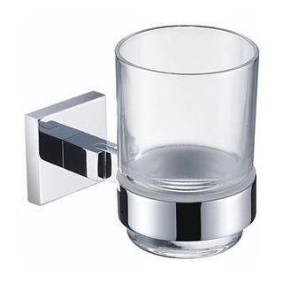 Bristan Square Toothbrush Holder Chrome