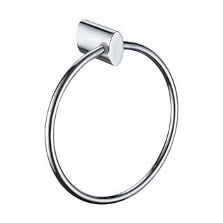 Bristan Oval Towel Ring Chrome