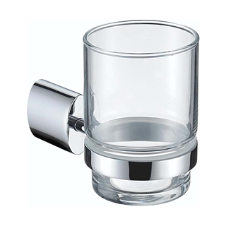 Bristan Oval Tumbler and Holder Chrome
