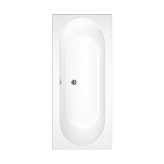 Cascade Double Ended Bath 1800mm x 800mm (No Taphole)