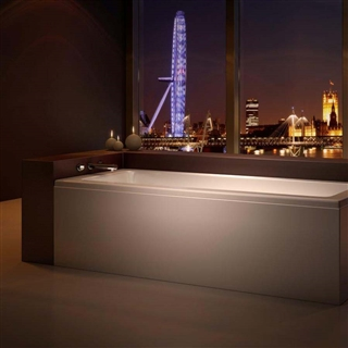 Solarna Single Ended Bath 1800mm x 800mm (No Taphole)