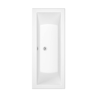 Solarna Double Ended Bath 1700mm x 750mm (No Taphole)