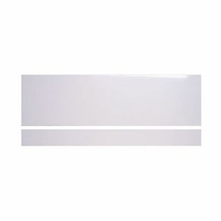 DLX 1700mm Front Bath Panel with Plinth 15mm Thick