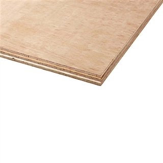 Far Eastern Hardwood Faced Plywood 2440mm x 1220mm x 12mm