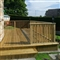32mm x 125mm (27mm x 120mm Finished Size) Timber Decking Treated FSC image 2