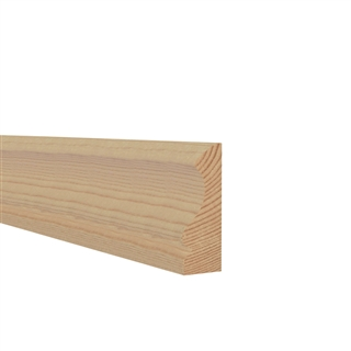 25mm x 75mm Softwood Architrave Ogee (21mm x 70mm Finished Size)