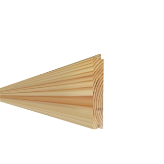 25mm x 125mm Softwood PTG Flooring Redwood (21mm x 113mm Finished Size)