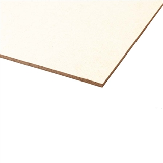 Hardboard/MDF White Painted 2440mm x 1220mm x 3.2mm