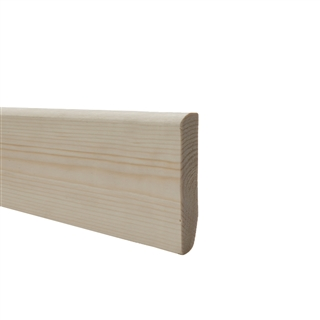 19mm x 75mm Softwood Skirting Dual Purpose (15mm x 70mm Finished Size)