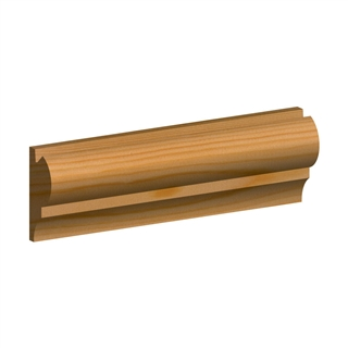 25mm x 50mm Softwood Picture Rail (21mm x 45mm Finished Size)