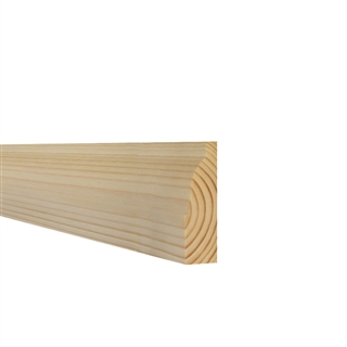 25mm x 75mm Softwood Architrave Ovolo (21mm x 70mm Finished Size)