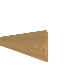 15mm x 118mm Softwood Shiplap Weatherboard (12mm x 113mm Finished Size) PEFC