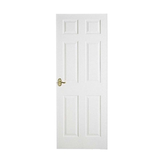 6 Panel Moulded Grained Door Colonist 6'8 x 2'8