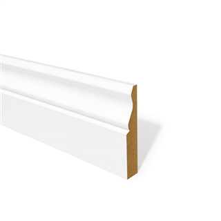 18mm x 69mm MDF Architrave Ogee Primed FSC