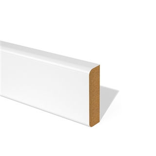 14.5mm x 69mm x 4200mm MDF Facing Pencil Round 2 Edge FSC