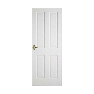 4 Panel Textured Semi Solid Core Door 6'6 x 2'0