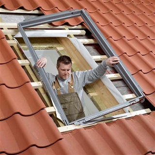 VELUX 550mm x 780mm Single Window Insulation & Underfelt Collars  BDX CK02 2000