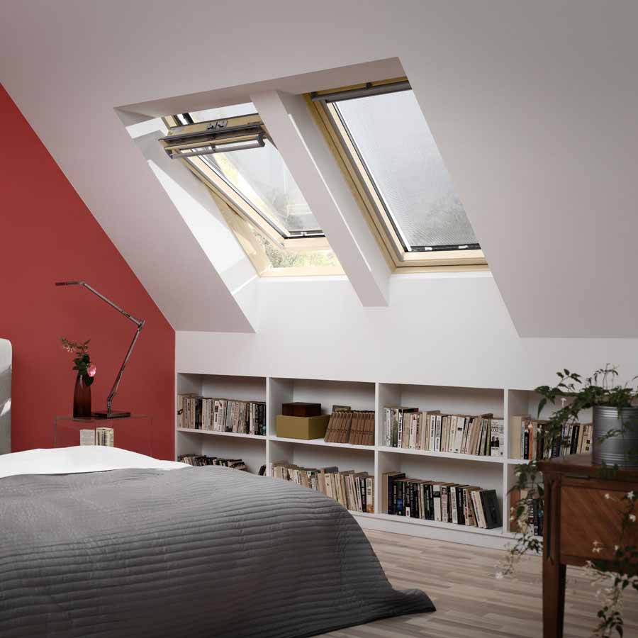 Stunning Velux Mm X Mm Lacquered Pine Centrepivot Roof Window Pane Ggl Mk  With Store Velux Mk04.