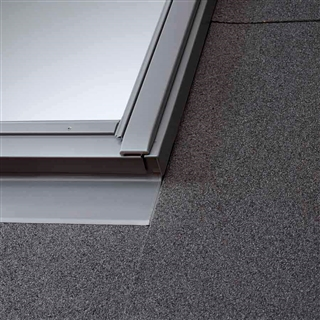 VELUX 1340mm x 1400mm (18mm Gap) Twin Window Slate Flashing  EBL UK08 0021B