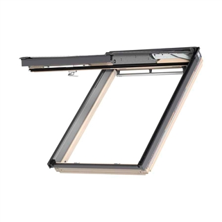 VELUX 550mm x 980mm Pine Finish Top Hung Roof Window --66 Pane  GPL CK04 3066