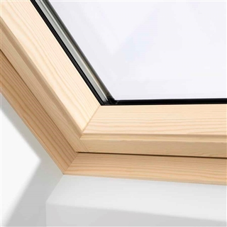 VELUX 780mm x 1400mm Integra Electric Pine Finish Centre Pivot Roof Window --66 Pane  GGL MK08 306621U
