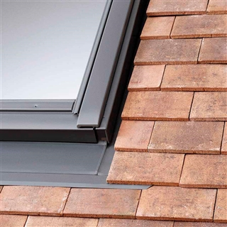 VELUX 550mm x 780mm (100mm Gap) Coupled Window Plain Tile Flashing  EKP CK06 0021E