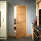 Oak Shaker 4 Panel Door 2040mm x 726mm x 40mm FSC image 1