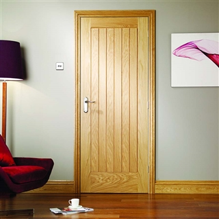 Oak Suffolk Door 2040mm x 526mm x 40mm FSC