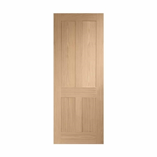Oak Victorian 4 Panel Door 2040mm x 726mm x 40mm FSC