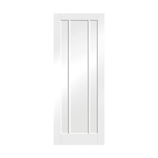 White Primed Worcester Door 2040mm x 826mm x 40mm FSC