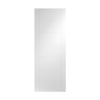 White Primed Palermo Door 2040mm x 826mm x 40mm FSC