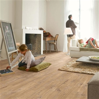 Quick-Step Eligna Wide Oak Planks With Saw Cuts 1.835m²