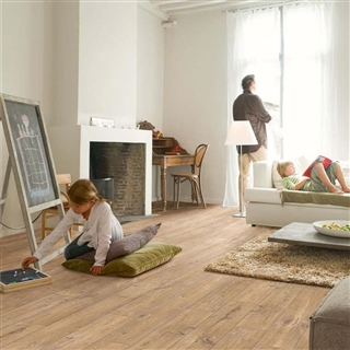 Quick-Step Perspective 4-Way Wide Oak Planks With Saw Cuts 1.573m²