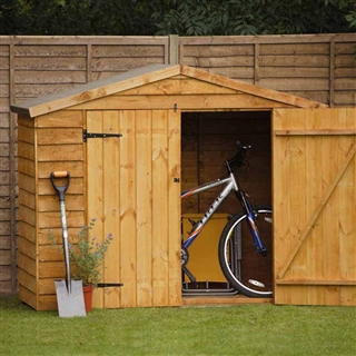 Timber Bike Store with Assembly Service FSC