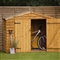 Timber Bike Store with Assembly Service FSC image 0