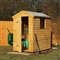 Premium Overlap Apex Shed 6' x 4' with Assembly Service FSC image 0